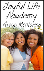 Joyful Life Academy - Group Mentoring